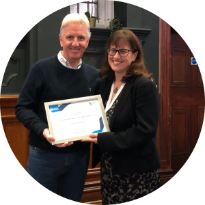Beverly Baker receives British Council ARG international award 2019